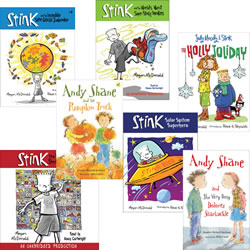 The Best of Andy Shane, Judy Moody & Stink (Set of 7)