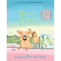 Mercy Watson Goes for a Ride - Paperback