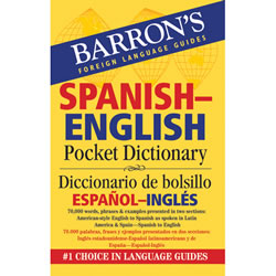Spanish English Pocket Dictionary