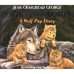 Look to the North: A Wolf Pup Diary - Paperback