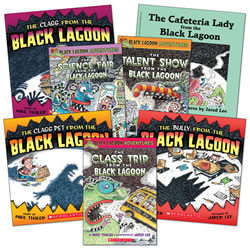 Black Lagoon Adventures Book Set (Set of 7)