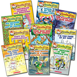 Geronimo Stilton Book Set (Set of 10)