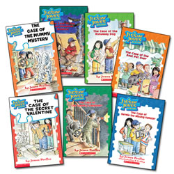 Jigsaw Jones Book Set (Set of 7)