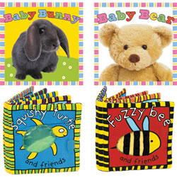 Animals All Around Cloth Book Set (Set of 4)
