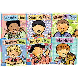 Time for Learning Board Book Set (Set of 6)