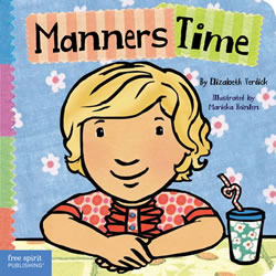 Manners Time - Board Book