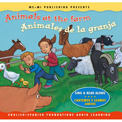 Animals At the Farm - CD Audio Book