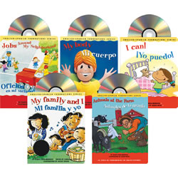 Listen & Read Bilingual Board Book and CD Set (Set of 5)