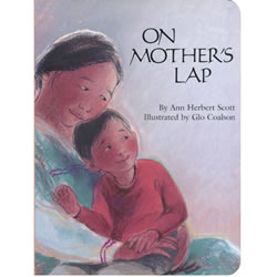 On Mother's Lap - Board Book