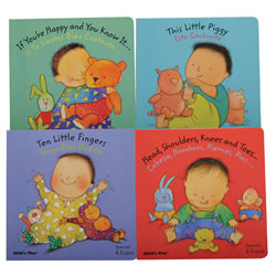 Sing-A-Song Bilingual Board Book Set (Set of 4)