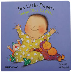 Ten Little Fingers - Bilingual Board Book