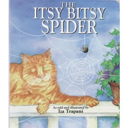 The Itsy Bitsy Spider - Board Book