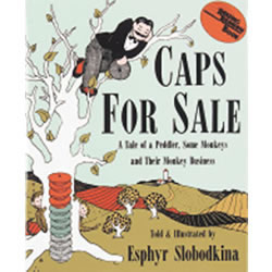Caps For Sale (Paperback)