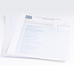 DECA Record Forms - 40 Spanish Assessment Forms and English Parent/Teacher Profile Master