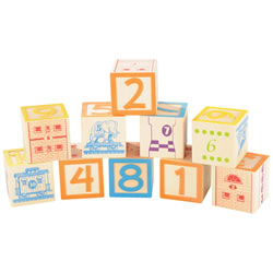 Count & Stack Number Blocks