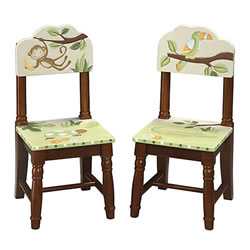 Lambs & Ivy Papagayo Extra Chairs (Set of 2)