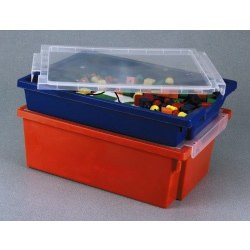 Storage Tray with Clear Lid