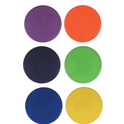 "9"" Poly Spots Set (set of 6)"