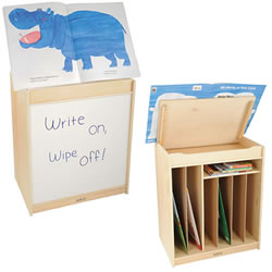 Big Book Easel/Storage Unit