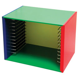 Painted Puzzle Storage Case