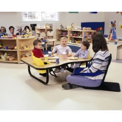 Foot Supports for Toddler Table