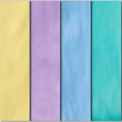 Fitted Compact Crib Size Sheets - Assorted Colors (Pack of 4)