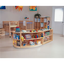Shape-A-Space™ Curved Storage Unit