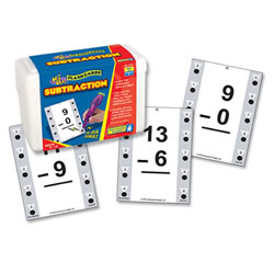 Subtraction Quiz Cards
