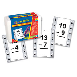 More Subtraction Quiz Cards