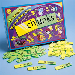 Chunks - A Word Building Game (Using Onsets and Rhymes)