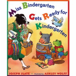 Miss Bindergarten Gets Ready For Kindergarten (Paperback)