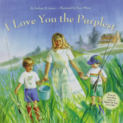 I Love You The Purplest (Hardcover)