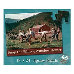 Snap the Whip Floor Puzzle