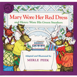 Mary Wore Her Red Dress - CD & Paperback