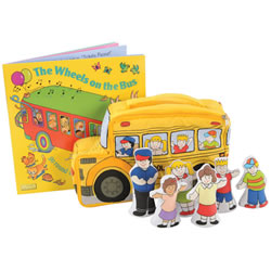 The Wheels on the Bus Story Set