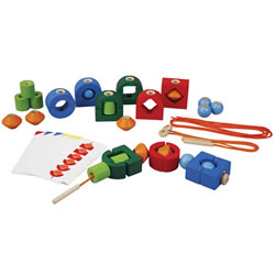 Eco Friendly Lacing Fine Motor Skill Set