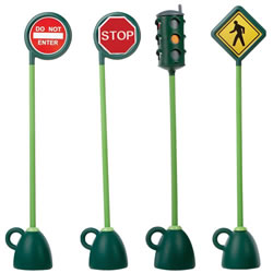 Village Traffic Signs Set