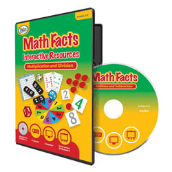 Math Facts Interactive Resources - Multiplication and Division