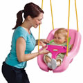 2-In-1 Snug 'n Secure™ Swing Pink