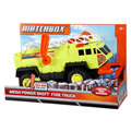 Matchbox Mega Power Shift Yellow Fire Truck