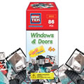 Brictek Building Blocks Windows and Doors