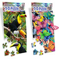Toucan & Butterfly 3-D Mini Jigsaw Puzzle Set