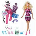 Blonde Barbie® Doll & Fashion Set with Bonus Glam & Sweetie Accessories
