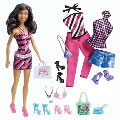 Ethnic Barbie® Doll & Fashion Set with Glam & Sweetie Accessories