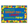 Today is a Great Day Welcome Mat 2' x 3' - Washable