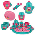 Pretend Play Wooden Tea Party Set