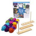 Craft Tastic Pom Pom Arts & Crafts Kit