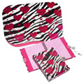 Zebra-Liscious Lap Desk & Diary Set