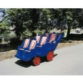 Fat Tire Bye-Bye Buggy - Blue 6 Seat
