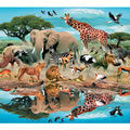 African Watering Hole 300 Piece Jigsaw Puzzle